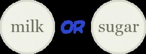 "Diagram outlining a keyword search for ""milk OR sugar"""