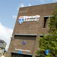 The Robinson Library at Newcastle University